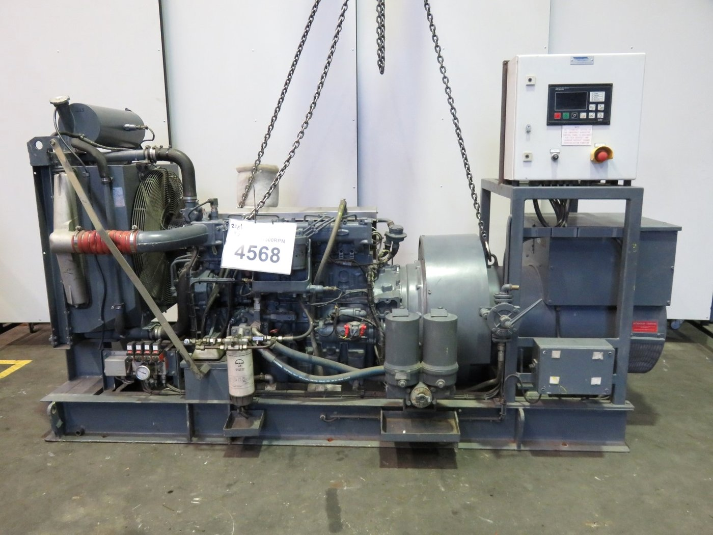 Used industrial generator sets